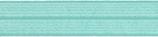 Einfaßband elastisch 20 mm, türkis