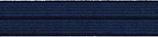 Einfaßband elastisch 20 mm, dunkelblau