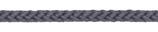 Kordel 8 mm, grau