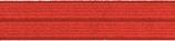 Einfaßband elastisch 20 mm, rot