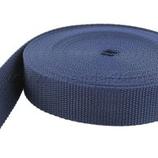 Gurtband 25 mm, dunkelblau