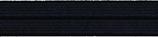Einfaßband elastisch 20 mm, schwarz