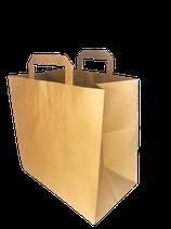 Papiertragetasche Braun (T2728B)