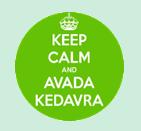 HP8 - Keep calm and Avada Kedavra