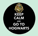 HP7- Keep calm and got to Hogwarts