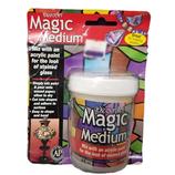 Magic Medium.  Crear vidrieras.  Decoart 118 ml.  DS42