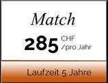 """Werbepaket """"Match"""" Laufzeit 5 Jahre"""