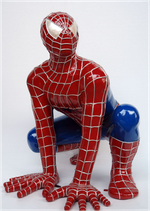 RÉPLICA DE SPIDERMAN AGACHADO | Figuras de Spiderman
