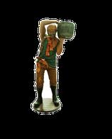 RÉPLICA DE PIRATA CON BARRIL EN EL HOMBRO | Figuras de piratas