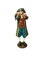 FIGURA DE PIRATA CON CATALEJO | Figuras de piratas