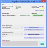 Jog Wheel Communicator 1.xx Software Lizenz