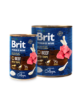 Brit Premium by Nature Beef with Tripes