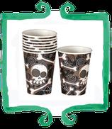 Bicchieri Teschi - 8 pezzi