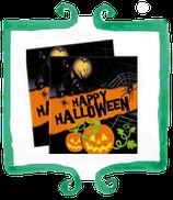 Tovaglioli Happy Halloween - 20 pezzi