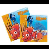 Tovaglioli Alla ricerca di Nemo - 20 pezzi