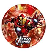 Piatti grandi Avengers 23cm- 8 pezzi
