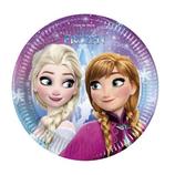 Piattini Frozen Luci del Nord 18cm - 8 pezzi