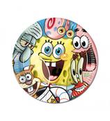 Piatti grandi Spongebob 23cm- 8 pezzi