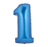palloncino Numero 1 grande - 100 cm