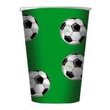 Bicchieri Palloni da Calcio - 10 pezzi