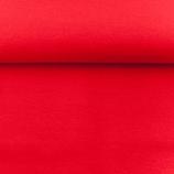 Bündchen glatt ROT passend zum Glockenstolz Stoff, 0.5m