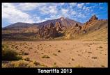 Teneriffa Kalender 2013 schwarz