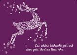 Grusskarte Hirsch