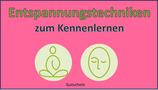"""Gutschein für """"Entspannungstechniken zum Kennenlernen"""" bei Marion Engel"""