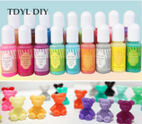 Solid Color - (deckende Farben) Farbenset (18 Farben) für UV-Resin
