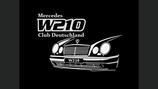 W210 Club Deutschland - Gruppenlogo (2 Teile)