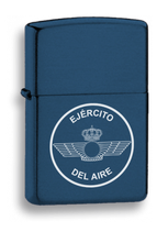 MECHERO GASOLINA AZUL LOGOTIPO EJERCITO DEL AIRE (33541GR4016)