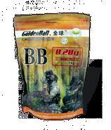 BOLSA 1 kg BOLAS 0,20 grms  INVISIBLES MARCA GOLDEN BALL  (35589)