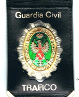 CARTERA GUARDIA CIVIL TRAFICO MODELO 2J