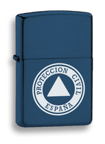 MECHERO GASOLINA AZUL LOGOTIPO PROTECCION CIVIL (33541GR4015)