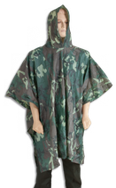 PONCHO PVC IMPERMEABLE woodland (alb30433)