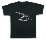 CAMISETA NEGRA ASSAULT AK-47