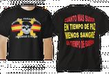 CAMISETA NEGRA BRIPAC TRIUNFAR O MORIR CALAVERA ASPA ESPAÑA 32653-060 P     120434v