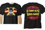 CAMISETA NEGRA BRIPAC TRIUNFAR O MORIR CALAVERA ASPA ESPAÑA 32653-060 P