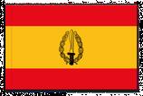 BANDERA ESPAÑA GOE (GRUPO OPERACIONES ESPECIALES)