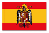 BANDERA ESPAÑA ÁGUILA DE SAN JUAN (30511)