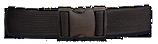 CINTURON NEGRO DINGO AJUSTABLE NYLON 130X5 CM  (34300)
