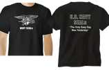CAMISETA NEGRA NAVY SEALS
