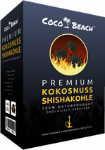 CocoBeach Premium Shishakohle