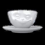 """Kaffeetasse """"grinsend"""" 200 ml"""