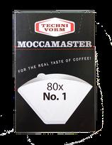 Moccamaster Filtertüten weiß Gr. 1 für Cup One