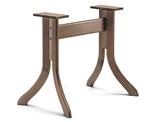 B510 Base in legno per tavoli rettangolari
