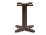 B525M Base in legno per tavoli quadrati o rotondiNome prodotto