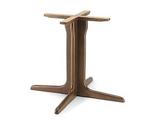 B502 Base in legno per tavoli quadrati o rotondI