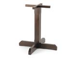 Base in legno per tavoli quadrati o rotondi B521