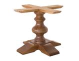 Base in legno per tavoli quadrati o rotondi B534